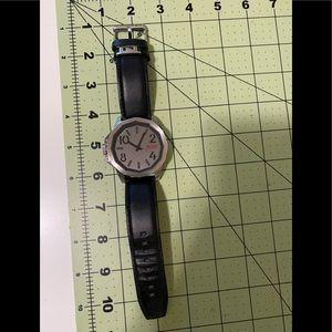 Shark silver face designer wrist watch